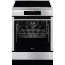 AEG 69476IU-MN Free-Standing Cooker Induction Pyrolyse Self-Cleaning Touch Use A
