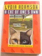 Lydia Adamson - A cat of one's own  1999 1ST EDITION HARDBACK BOOK