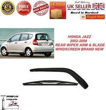 HONDA JAZZ / FIT MK2 2002-2008 REAR WIPER ARM & BLADE WINDSCREEN BRAND NEW 350MM