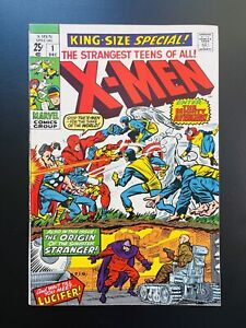 X-MEN King-Size Special #1 (1970) vs Avengers - Scarlet Witch VF- Sharp!!