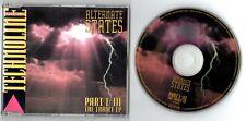 Alternate States Maxi-CD EP PART I-III 1991 German-3-track Techno The Trance EP
