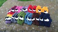 Hand Knitted 3D Yorkshire Grey Sheep Wrist Warmers (wristwarmers)