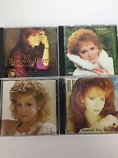 Lot Of 4 Country CDs Bonnie Raitt Reba McEntire Music Fancy Silly Me Walk On G 2