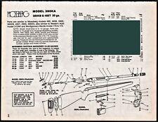1996 MOSSBERG 395KA 385KB 485T Shotgun Parts List AD