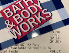 Bath and body works gift card $94.87