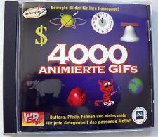NEU - 4000 animierte Gifs - Original Versiegelt PC-Software Classic WIN 3.1 / 95