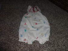 BABY GAP 3-6 LOBSTER ROMPER OUTFIT W BOW RARE
