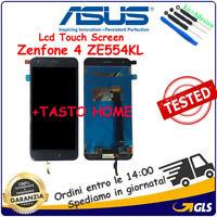 Display LCD Touch Screen Vetro Per Asus Zenfone 4 ZE554KL S660  Z01KD Z01KS Nero