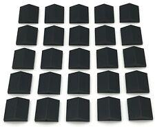 Lego 25 New Black Slope 33 2 x 2 Double Sloped Pieces Parts