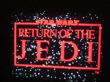 "16mm full length trailer LPP color Star Wars  "" Return of the Jedi "" 2 1/2"" mins"