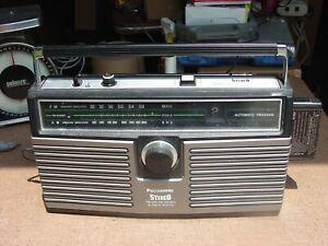 Panasonic RS-836A Horizontal AM/FM Portable Radio w 8-Track Player Japan