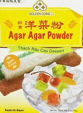 Agar Agar Powder 6 Oz. 170g Product of USA Easy to make Sugar added ready to use