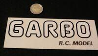k30 adesivo sticker   garbo r.c. model very good