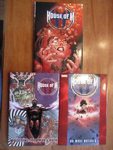 Marvel House of M Oversized Hardcover Lot