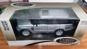 ERTL Range Rover 1/18 scale Die Cast - Silver - RHD (L322)