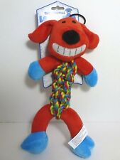 "MULTIPET 11"" RED LOOFA DOG ROPE TOY"