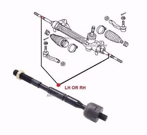 FOR TOYOTA ESTIMA 2.4i ACR50 ACR55 MPV FRONT LH OR RH INNER TIE ROD END 06 >ON