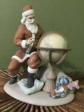Lladro Merry Christmas 13� Tall Like Newmint Condition