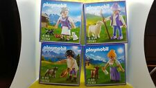 Playmobil milka Promo set 70162,70161,70163,70164 nuevo embalaje original Top Exclusive set