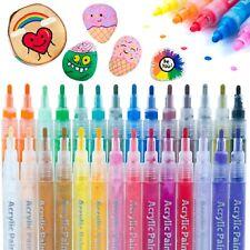 28 Farbige Acrylstifte für Stein...