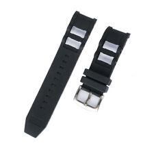 26mm Black Rubber Watch Band Strap Invicta Russian Diver 1088 1090 1091
