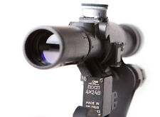 POSP 4x24 V. Sniper Rifle Scope. BelOmo. Russian Side Mount. Combloc. 400m