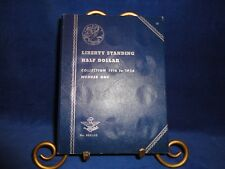 WHITMAN COIN ALBUMS-LIBERTY STANDING HALVES 1916-1936-ALBUM ONLY