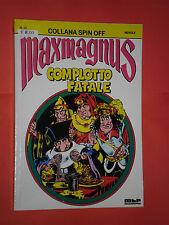 MAXMAGNUS -N°10 DI MAX BUNKER MBP-COLLANA SPIN OFF-NO CORNO E MAGNUS