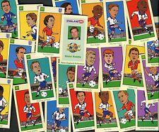 "BP OIL 1998 SET OF 25 ""ENGLAND '98 (Soccer)"" TRADE CARDS"