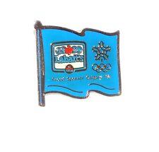 Labatt's Canadian Beer Proud Sponsor Calgary '88 Olympics Enameled Flag Pin