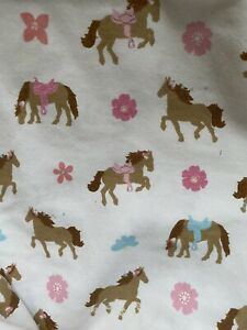 Circo HORSE Pony Theme TWIN Sheets Flat Fitted Pillow Case 3 Pieces Set Pink