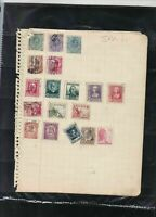 spain stamps page ref 18449