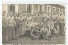 CPA MILITARIA , CARTE PHOTO MILITAIRE TOUL 1923