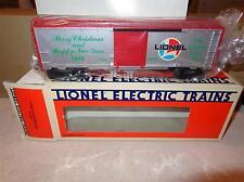 LIONEL CHRISTMAS - 9491 - 1986  ANNUAL CHRISTMAS CAR- 0/027 - MINT- W13