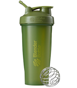 BlenderBottle Classic Shaker Bottle Perfect for Protein Shakes and Pre Workout,