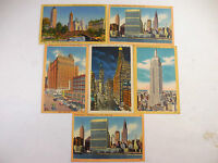 Lot 6 1940's 1950's New York City Buildings Landmarks Vintage Postcards #009