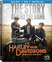 Harley and the Davidsons (2016) (4 Disc, Blu-ray + DVD) BLU-RAY NEW