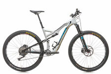 2015 Specialized Stumpjumper FSR Expert Carbon 29 Mountain Bike Large Shimano