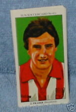 John Fraser Brentford Fútbol Tarjeta de Coleccionista #411
