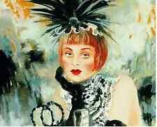 JOANNA ZJAWINSKA Lola RARE Artist's Proof on Canvas 9/50 Only ONE on Ebay COA