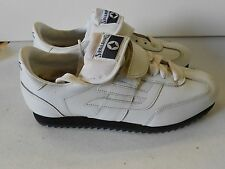 NOS Vtg Spalding C-200 Coaches Turf Shoes White Leather Size 6 1/2 Men's Wow!