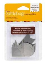 Cuttlebug Embossables Metal Shapes - Girly Girl - Silver - 2002197