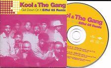 CD CARTONNE CARDSLEEVE KOOL & THE GANG EIFFEL65 GET DOWN ON IT 2T DE 2000 NEUF