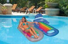 INTEX Schwimmsessel  Luftmatratze Schwimmmatratze Liege  Lounge