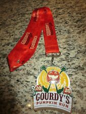 Gourdy's Pumpkin Run Race 2020 Running Finisher Marathon Medal