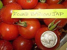 barlow jap round VARIANT tomato heirloom non-gmo DELICIOUS O.P. LYCOPENE SOURCE