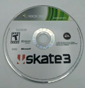 Skate 3 Xbox 360 2010 Disc Only Free Shipping