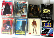 Star Wars Trading Cards - 8 Sets Topps Decipher Empire Jedi Galaxy All Complete
