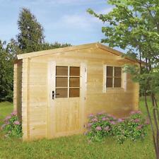 28 mm Gartenhaus Schweden 12 298 x 200 cm Holz Gerätehaus Blockhaus Schuppen
