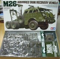 35244  M26 Armored Tank Recovery Vehicle Tamiya 1/35 model kit